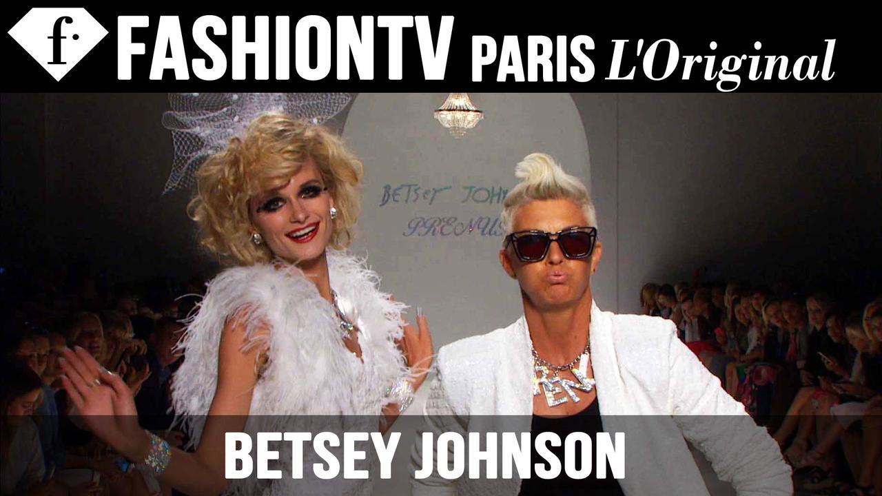 BETSEY JOHNSON SPRING/SUMMER 2015 NEW YORK FASHION WEEK