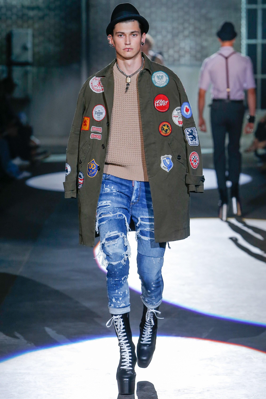 Dsquared2 Spring 2017 Menswear on Bessd – Bessd